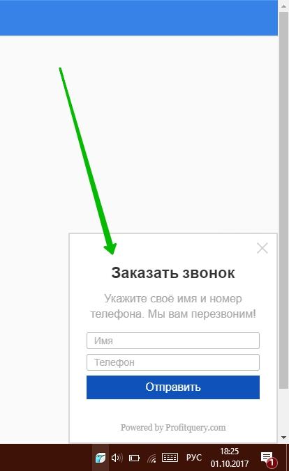 f7f3cf5b6c495 Wordpress заказать звонок. Как правильно поставить виджет обратного ...