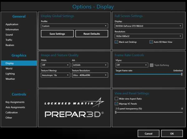 Prepar3D v3 оптимизация  Гайд по оптимизации и увеличению ФПС в Prepar3D