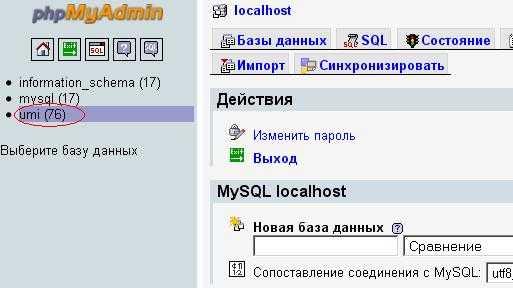 Перенос сайта на другой хостинг umi установка 1с битрикс управление сайтом на хостинге
